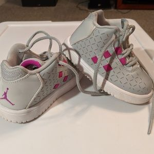 Toddler girl Jordan shoes